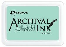 Ranger Archival Ink Stamp Pad VIRIDIAN AIP30669  2-3/4x4in Stamping #0