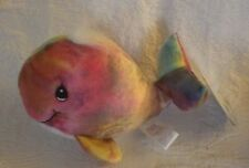 1998 Enesco Precious Moments Tender Tails Tye Dye Whale Watch Nwt