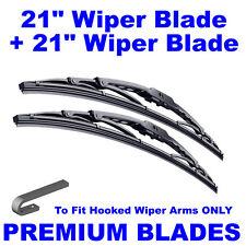 "Premium 21""  Inch & 21"" Inch Pair Front Windscreen Wiper Blades"