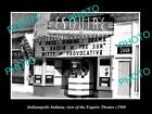 OLD LARGE HISTORIC PHOTO OF INDIANAPOLIS INDIANA, THE ESQUIRE THEATER c1960