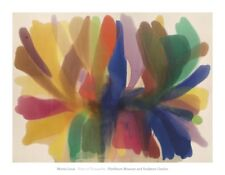 ABSTRACT ART PRINT Point of Tranquility (1959-1960) by Morris Louis Poster 28x36