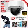 2MP HDCVI Camera 5X Manual Zoom Night Vision Outdoor CCTV Security Dome Camera