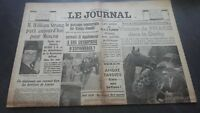 Newspapers The Journal N°17036 Monday 12 June 1939 ABE