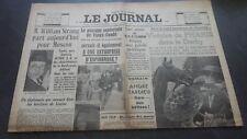 JOURNAUX LE JOURNAL N°17036 LUNDI 12 JUIN 1939 ABE