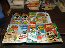 Gladstone Uncle Scrooge and Donald Duck Various issues.  #'s in description