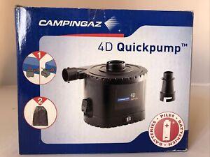 Campingaz 4D Quickpump Camping Airpump Battery Powered Cordless Air Bed Pump
