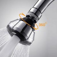 360 Shower Head Water Bubbler Swivel Head Water Saving Shower Faucet Kitchen
