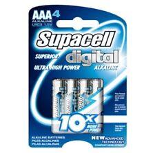 Supacell Digital 4 x AAA Alkaline Batteries LR6 1.5V Battery Long Lasting