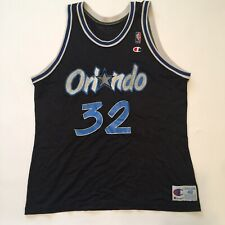 Shaquille O'Neal Orlando Magic Champion Basketball Jersey Sz XL