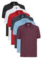 Jerzees 599B Kids Girls Boys Childs Hardwearing School Poly/Cotton Polo Shirt