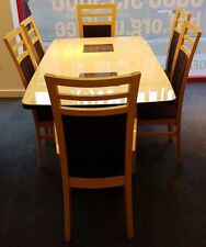 Teak Up to 6 7 Dining Tables Sets