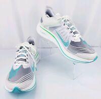 Nike Zoom Fly SP AJ9282-103 White/Rage Green Men's US Size 15 Running Training