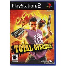 PLAYSTATION 2 TOTAL OVERDOSE PAL PS2 [UVG] YOUR GAMES PAL