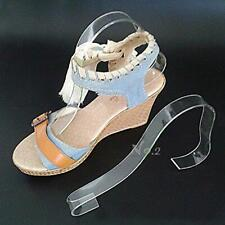 No2 Warehouse Pack Of 10 Acrylic Sandal Shoe Store Display Stand Forms Inserts