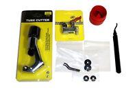 Tube Cutter & Reamer Deburring Kit + repl blades #3437