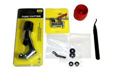 Tube Cutter & Reamer Deburring Kit + repl blades #3437