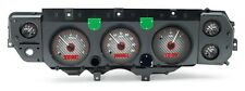 1970 - 1972 Chevelle SS Dakota Digital Carbon Fiber & Red VHX Analog Gauge Kit