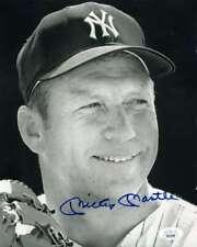 Mickey Mantle Jsa Loa Autograph Hand Signed 8X10 Yankees Photo