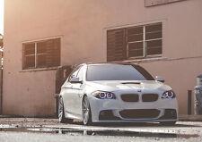 BMW 550I F10 NEW A3 CANVAS GICLEE ART PRINT POSTER FRAMED