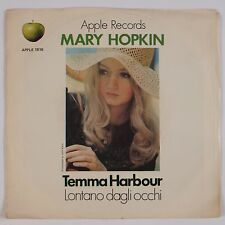 MARY HOPKIN: Temma Harbour USA Apple 1816 Beatles 45 w/ PS VG+