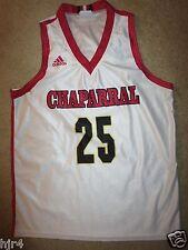 Chaparral Firebirds High School CHS Basketball Adidas Jersey Womens L Scottsdale