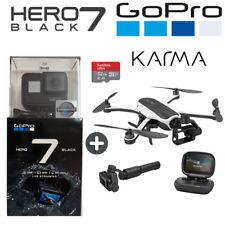GoPro Hero 7 Black 4K60 Ultra HD HyperSmooth + Karma Drone Bundle + 32GB SD Card