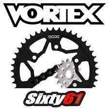 Suzuki GSXR 600 Chain Sprocket Kit 2006-2009 2010 Vortex 520 15/45T Steel Black