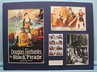 "Douglas Fairbanks""The Black Pirate"" signed Billie Dove"