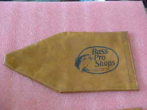 "FT2 Vintage Bass Pro Fishing Reel Vinyl Cover -- 14.5"" x 7.5"" - Mint condition"
