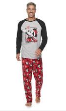 Men's 3XB DISNEY Mickey Mouse Christmas Holiday Pajamas Pjs Sleep Set Big & Tall
