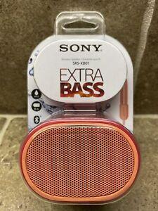🔥Sony SRS-XB01 Etra Bass Portable Bluetooth Speaker (Red) BEST DEAL!🔥