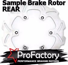 KAWASAKI KX100 KX 100 frein arrière rotor disque Pro Factory BRAKING 2001-2013