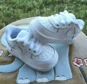 "Nike Air Force 1 ""PURE PLATINUM"" BRAND NEW Toddler 4C"