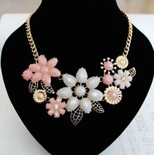 Necklace Necklace Accessories Women's New 1 PC Alloy Flower Pink Bauhinia Flower
