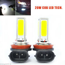 2Pcs Pure White H11 LED Fog Lights lamps For BMW E90 325 328 335i Error Free