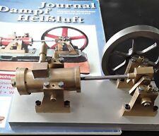 Dampfmaschine mit Kolbensteuerung, Modell