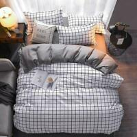 3D Simple Black And White Grid KEP2212 Bed Pillowcases Quilt Duvet Cover Kay