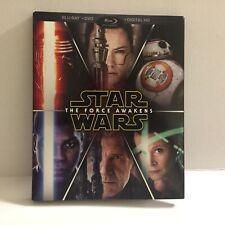 Star Wars The Force Awakens Movie Blu-Ray Disc (No DVD No Digital)