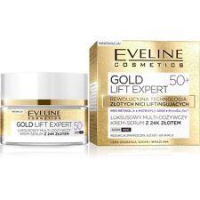 (25,98€/100ml) EVELINE GOLD LIFT EXPERT Antifalten CREME TAG&NACHT 50+ 50ml