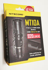 Nitecore MT10A Tactical Flashlight -XM-L2 U2