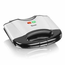 Swan 2 Slice 700W Stainless Steel Non-Stick Sandwich Toaster SF16010N