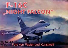 "FLY Model  90 - General Dynamics F-16C ""Night Falcon"" - 1:33"