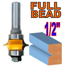 "1 pc 1/2"" Shank Full Bead with Two Bearings Router Bit sct-888"