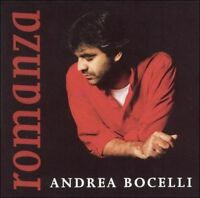 Andrea Bocelli : Romanza Classical Vocal Crossover 1 Disc CD
