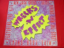 WRECKS-N-EFFECT VINTAGE 1989 RAP POSTER NEAR MINT CONDITION