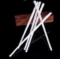 50stk Intensive Baumwolle Pfeifenreiniger Rauchtabak / Rohr Reinigung Tool weiß