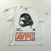 Mens Aape Camo Monkey Head by A Bathing Aape T Shirt Size XL