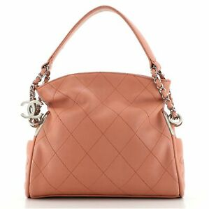 Chanel Ultimate Soft Hobo Quilted Leather Small