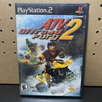 ATV Offroad Fury 2 (Sony PlayStation 2 PS2, 2002) Complete & Tested - Free Ship