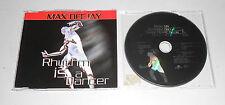 Single CD  Max Deejay - Rhythm Is A Dancer  1997  4.Tracks  169